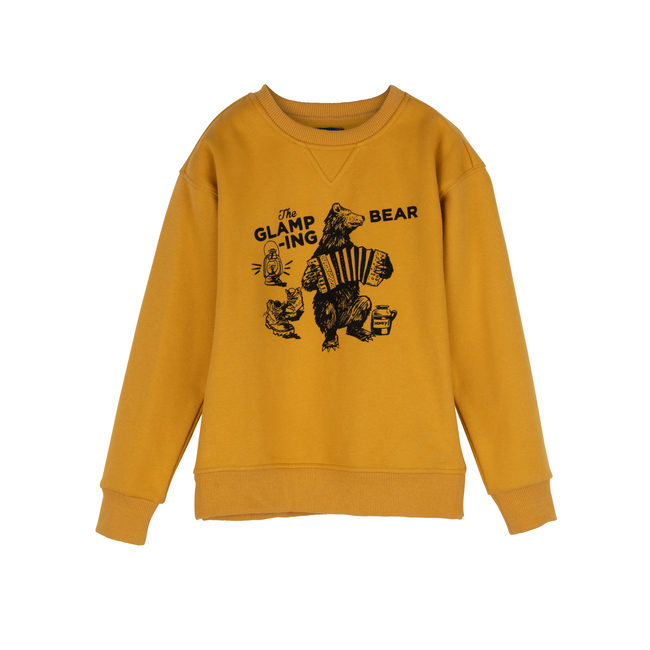 Tyler Sweatshirt, Glamping Bear