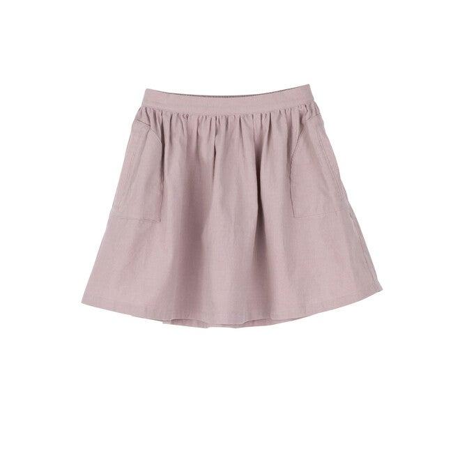 Cassie Cord Skirt, Lavender Mini Cord - Skirts - 1