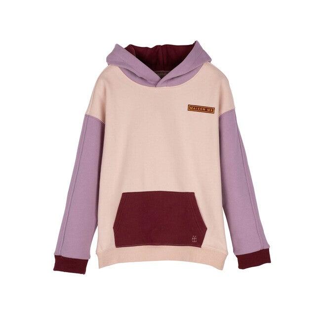 Ash Colorblock Sweatshirt, Blush Multi