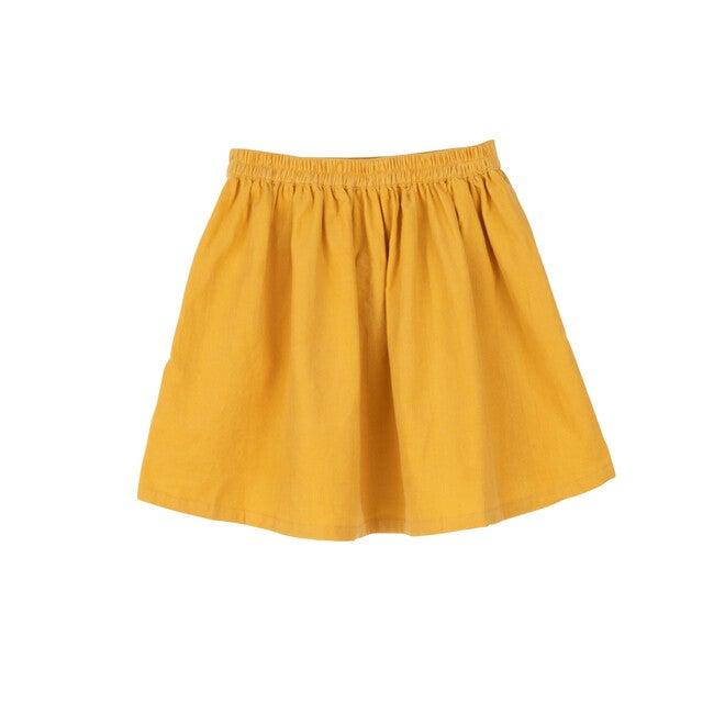 Cassie Cord Skirt, Butterscotch Mini Cord
