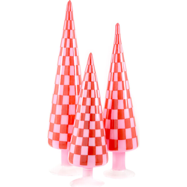 Checker Tree Set, Red