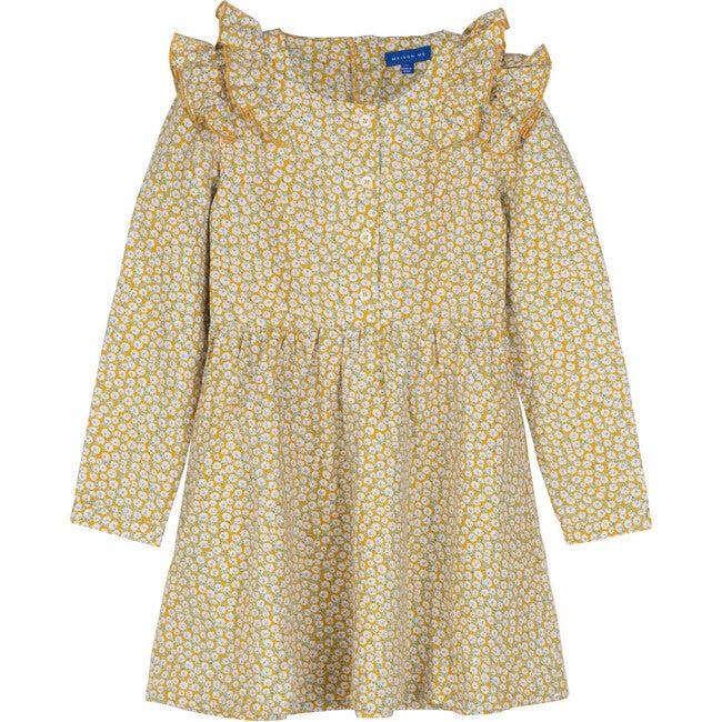 Lexi Dress, Marigold Ditsy Floral