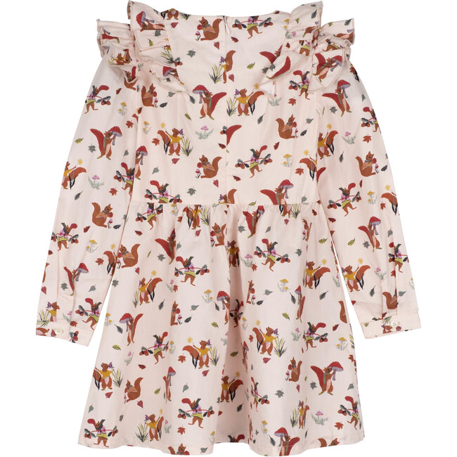 Lexi Dress, Light Pink Squirrels