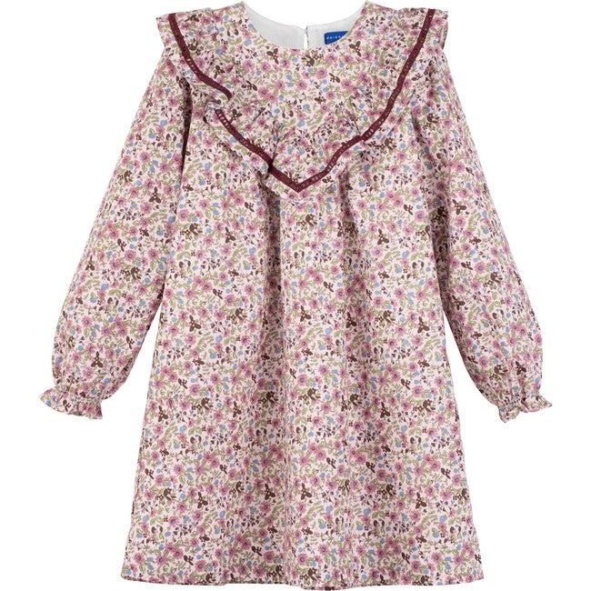 Cora Dress, Lavender Floral