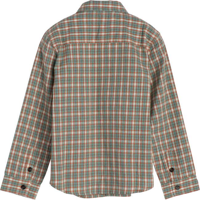 Max Button Down, Green & Red Check
