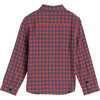 Max Button Down, Red & Blue Check - Shirts - 3