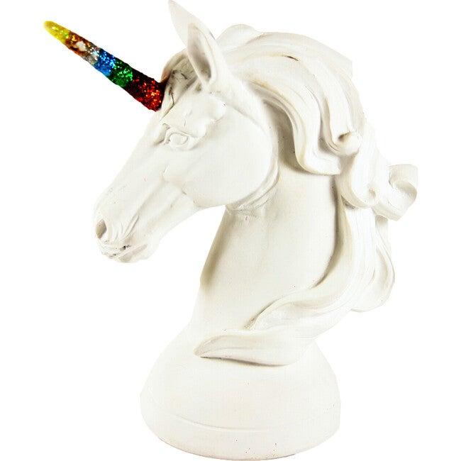 Unicorn Object, White/Rainbow