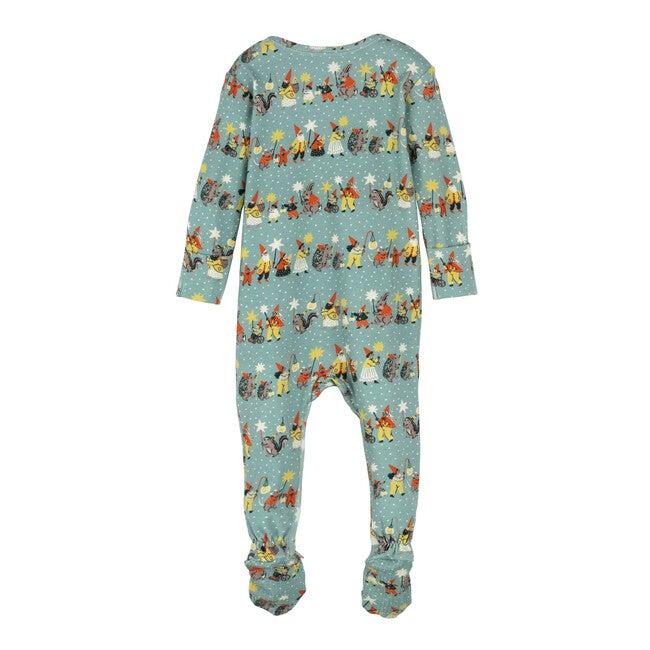 Baby Sawyer Holiday Zip Footie Pajama, Family