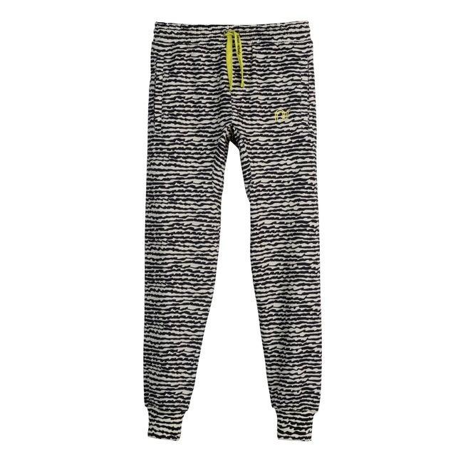 Arlo Jersey Joggers, Faded Black Fun Stripe